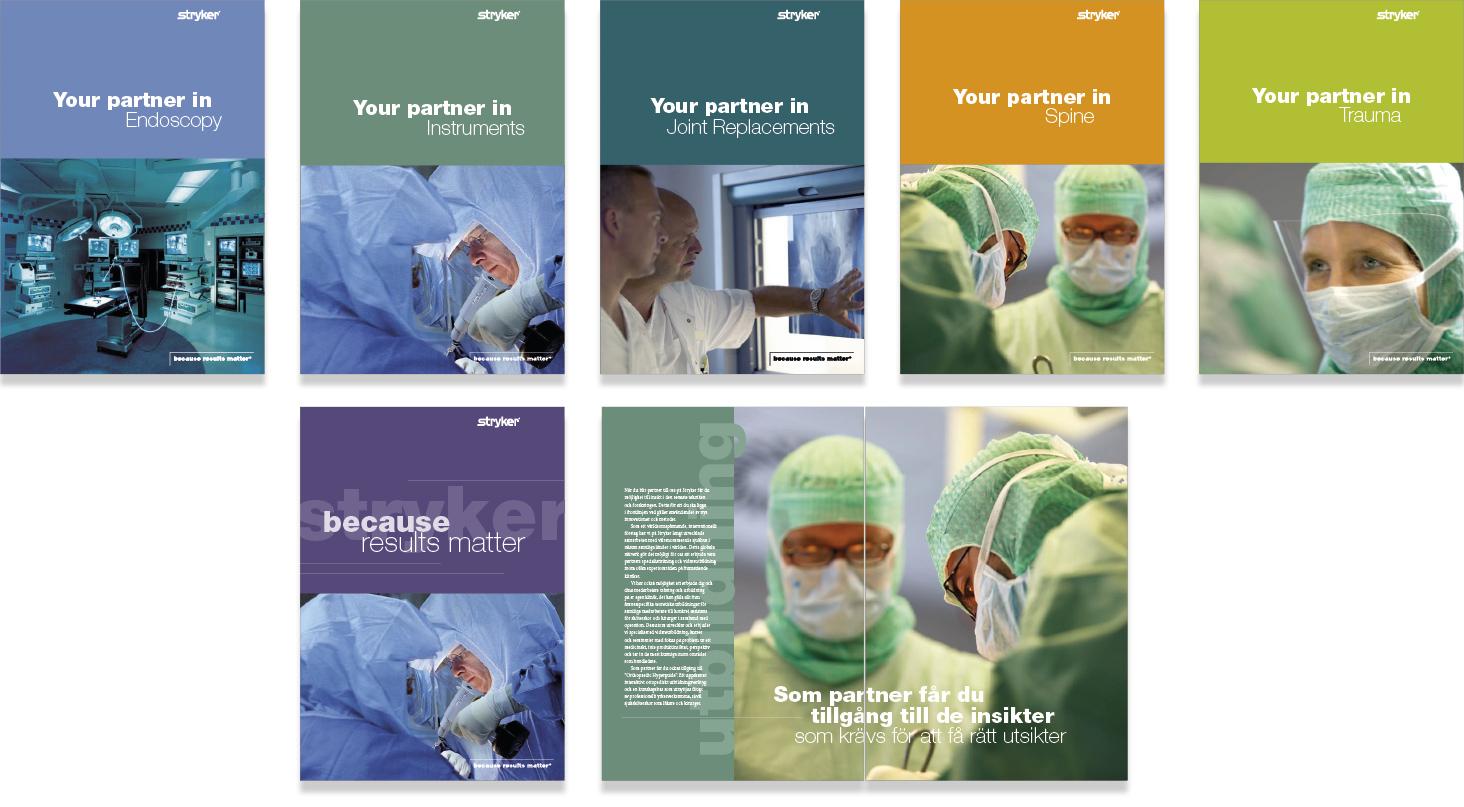 Stryker-broschyrer