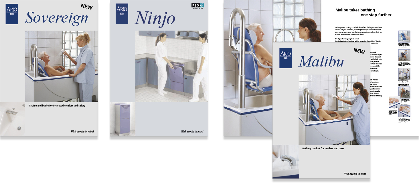Arjo-brochures