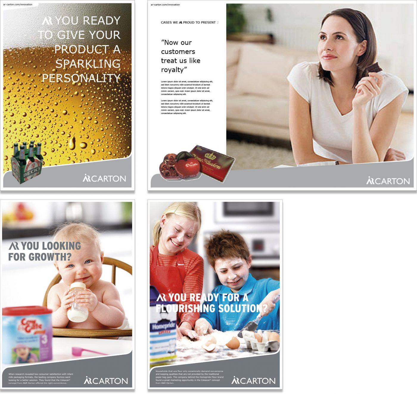 AR Carton Produktkommunikation