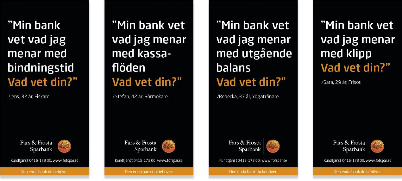 Färs och Frosta Sparbank Företagskommunkation