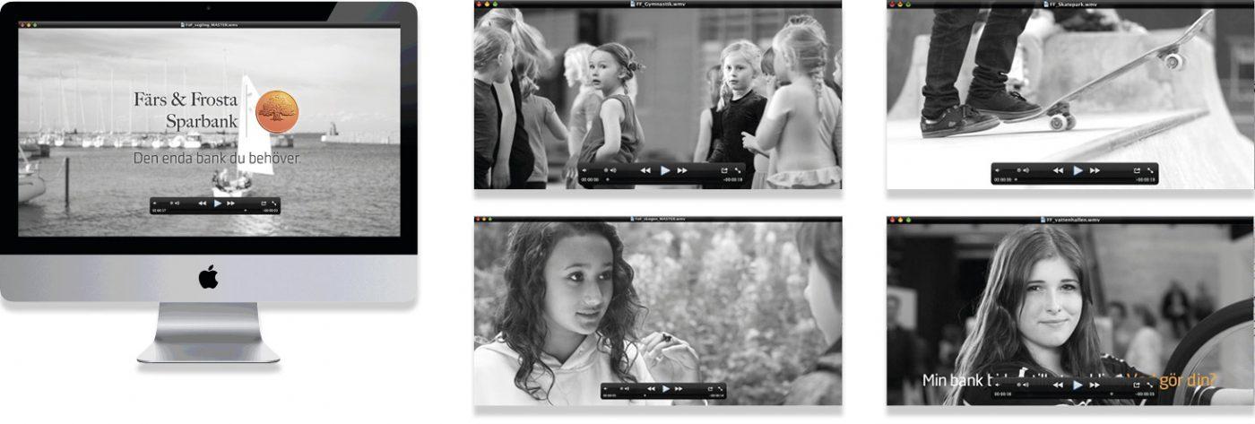 Färs och Frosta Sparbank Reklamfilmer