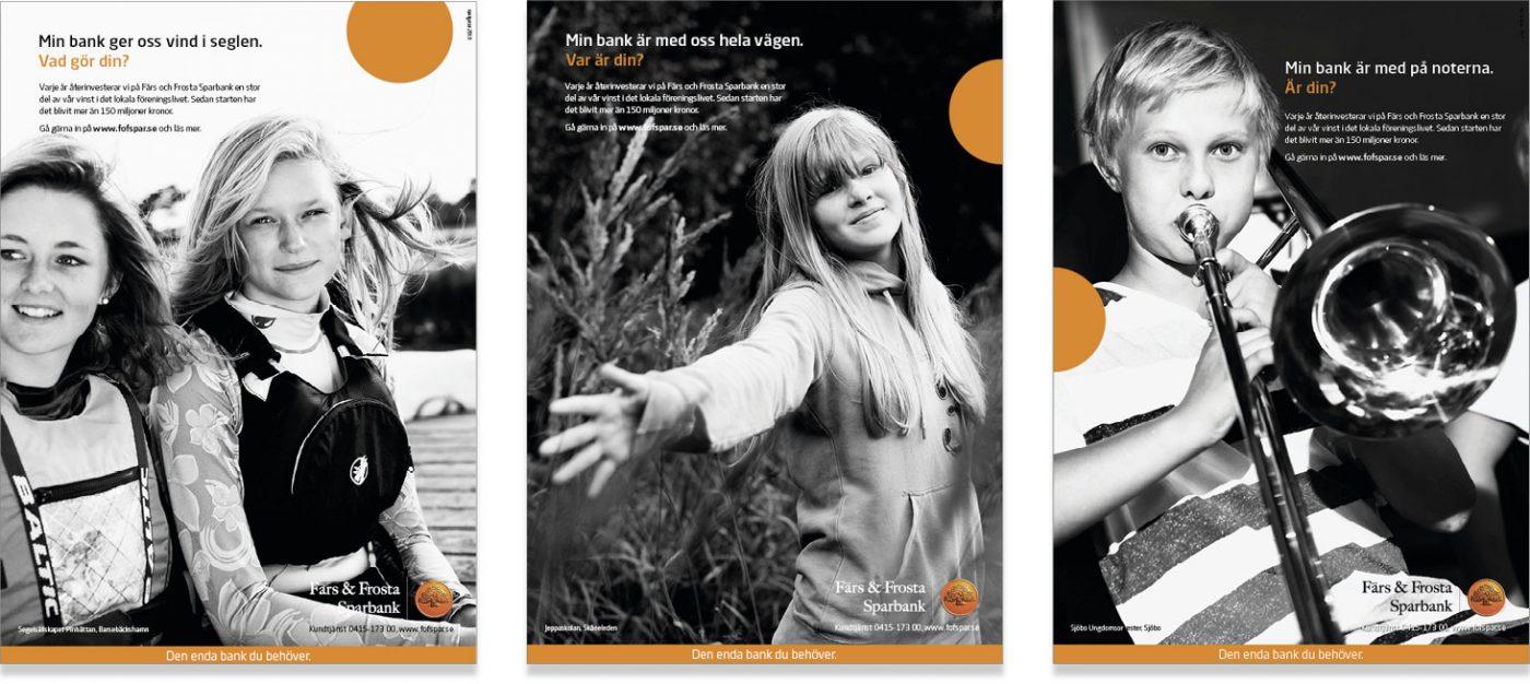 Färs och Frosta Sparbank Varumärkesbyggande kommunikation