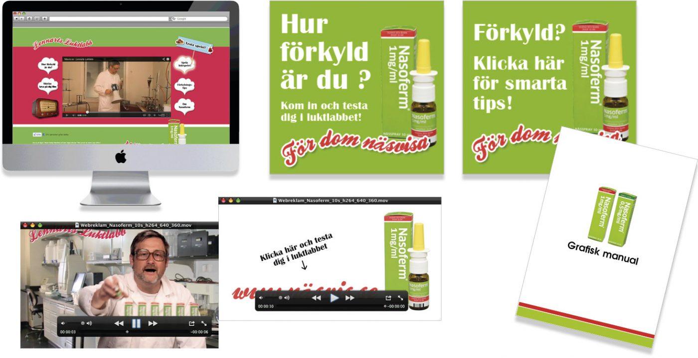 Nordic Drugs Marknadsföring Nasoferm