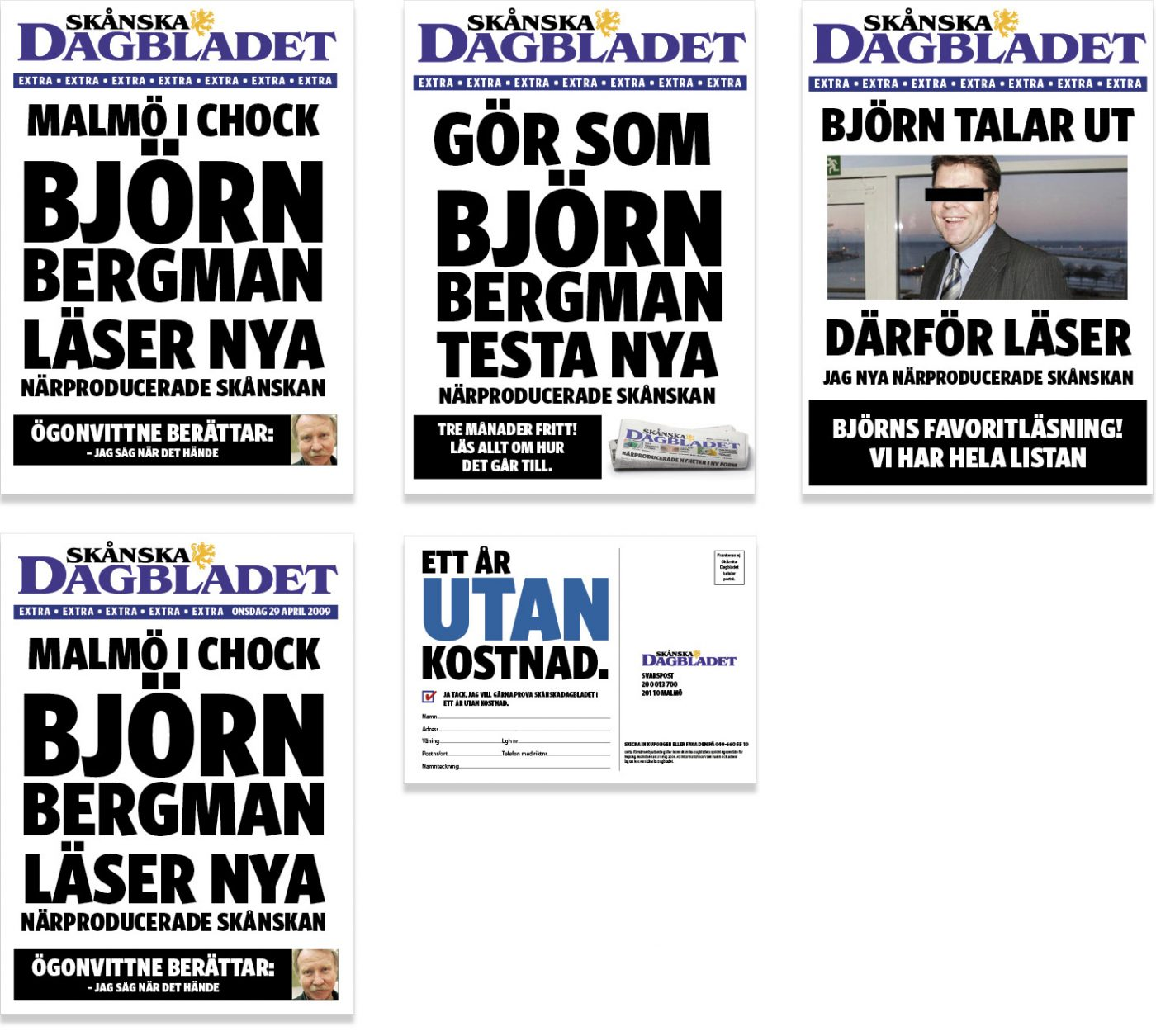 Skånska Dagbladet Gerillamarknadsföring