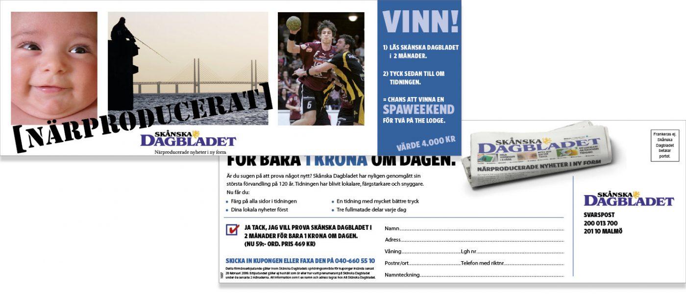Skånska Dagbladet Lanseringskampanj DR