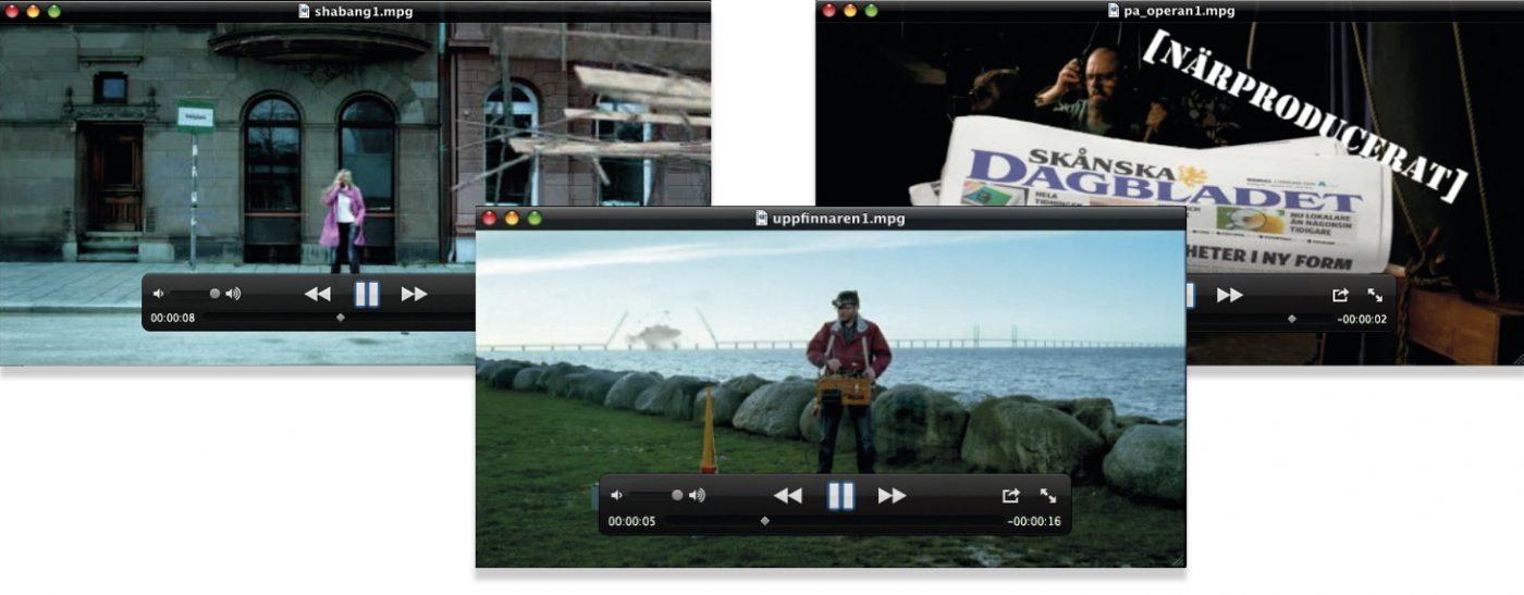 Skånska Dagbladet Reklamfilmer