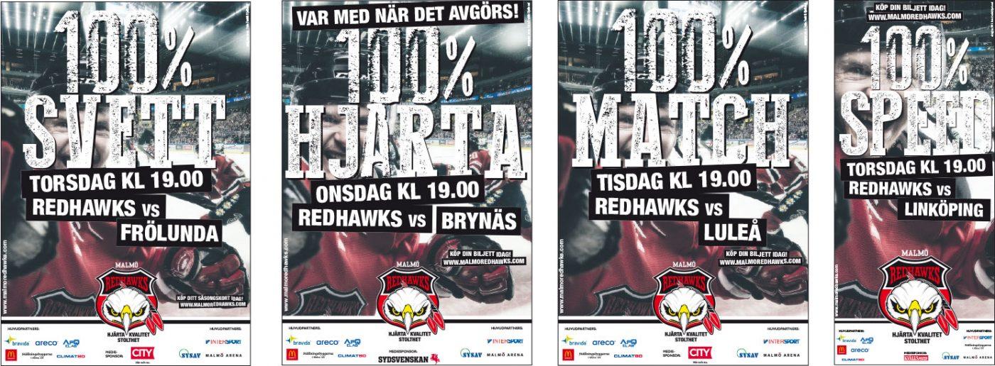 Malmö Redhawks Annonser