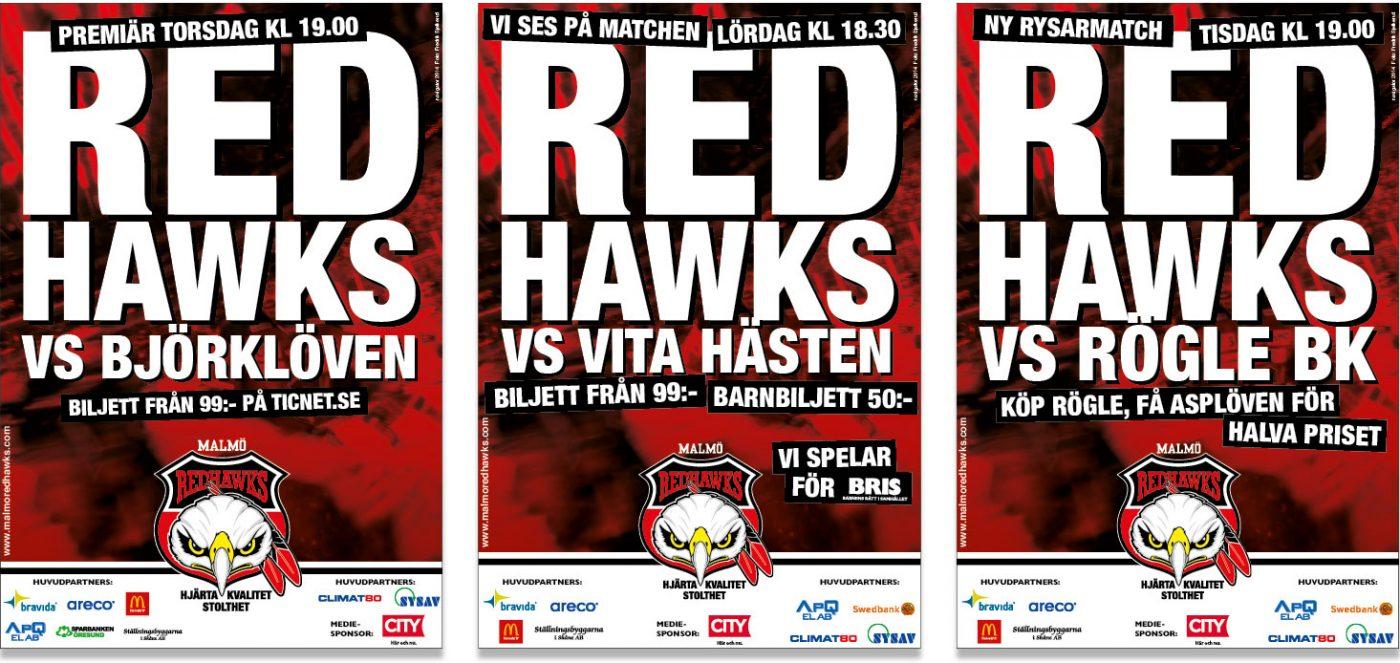 Malmö Redhawks Löpande kommunikation