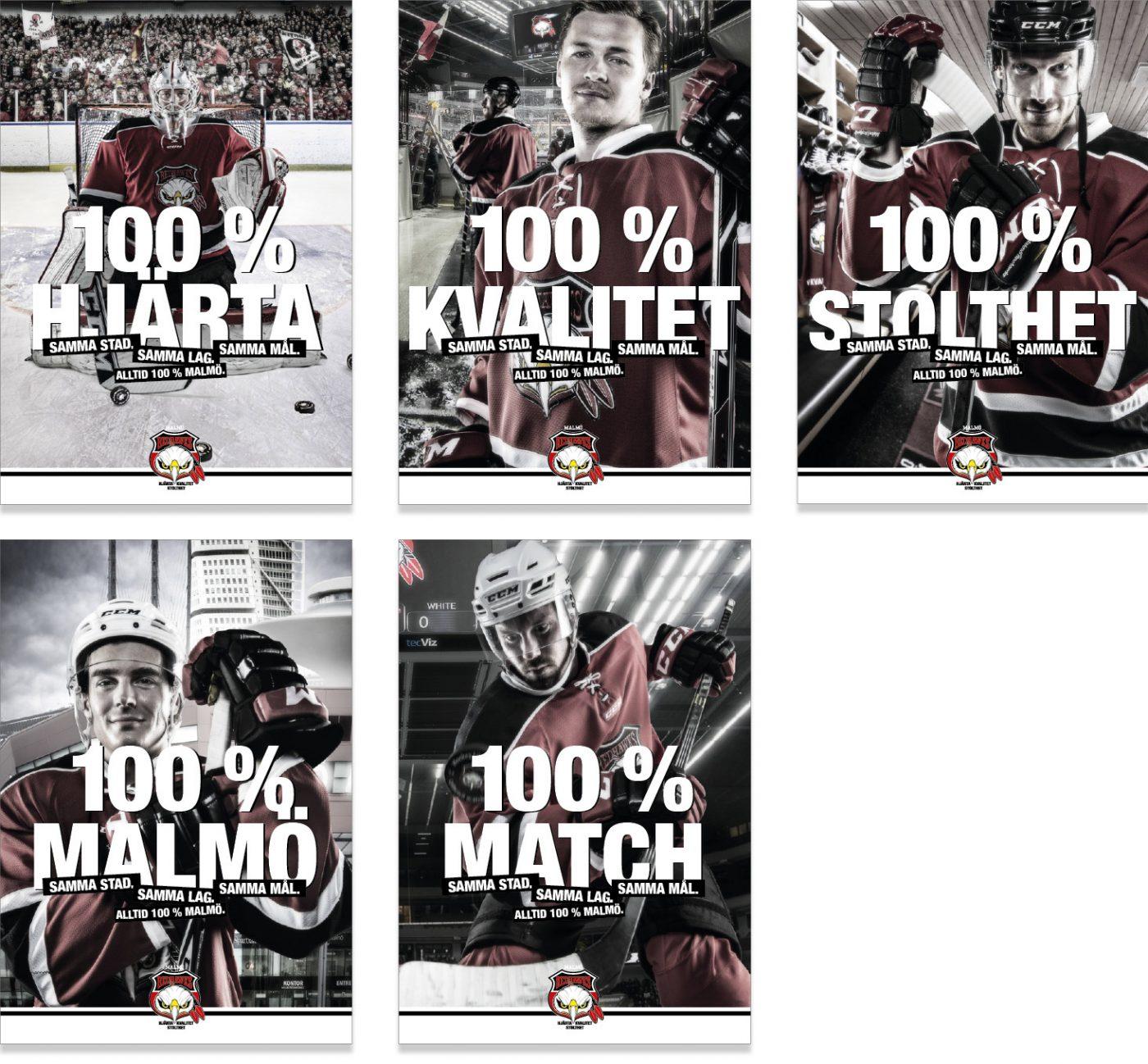 Malmö Redhawks Nytt kommunikationskoncept