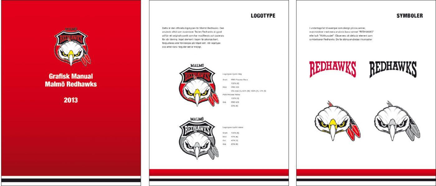 Malmö Redhawks Visuell identitet
