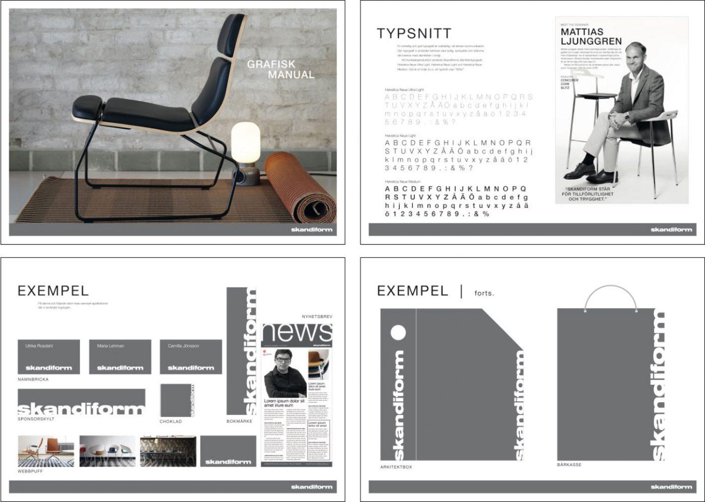 skandiform grafisk manual