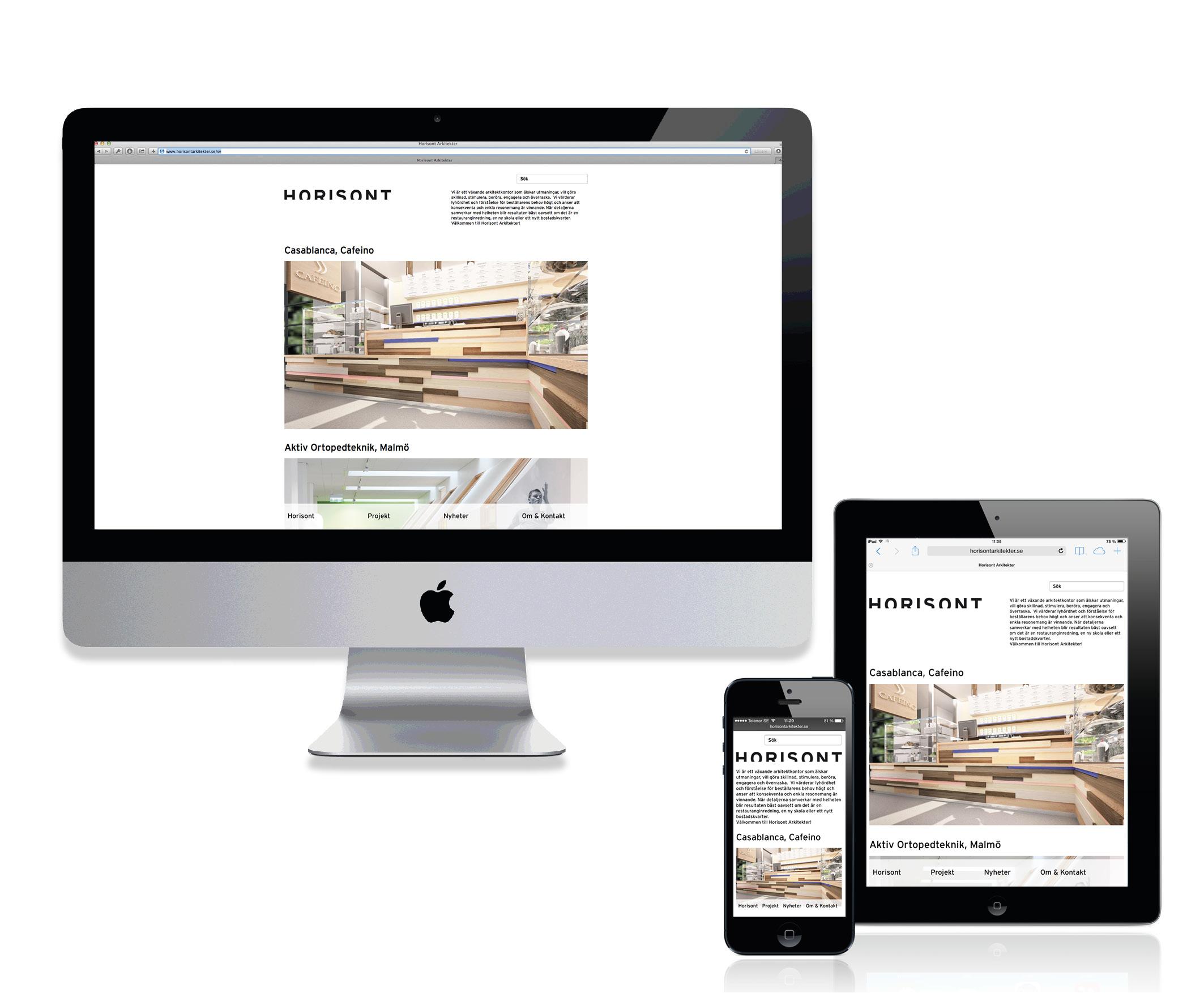 Horisont Arkitekter webb